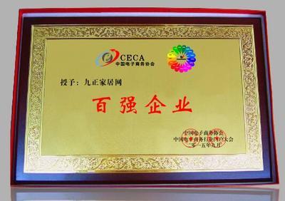 2017百强企业奖