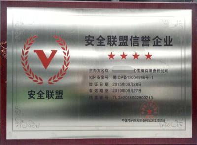 安全联盟行业验证版